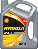 Моторное масло Shell Rimula R4 X 15W-40